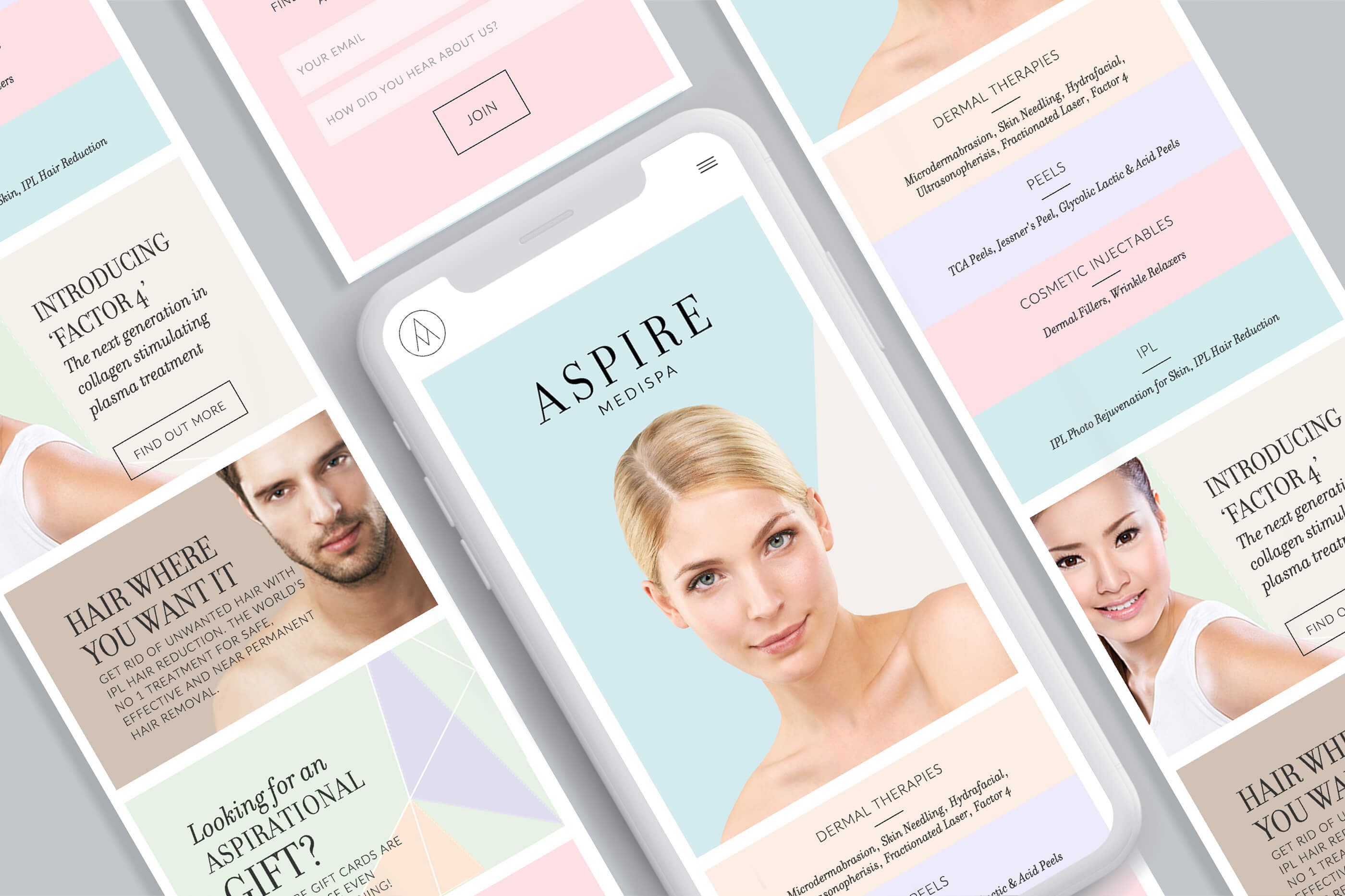 aspire-medispa-website-design-mobile