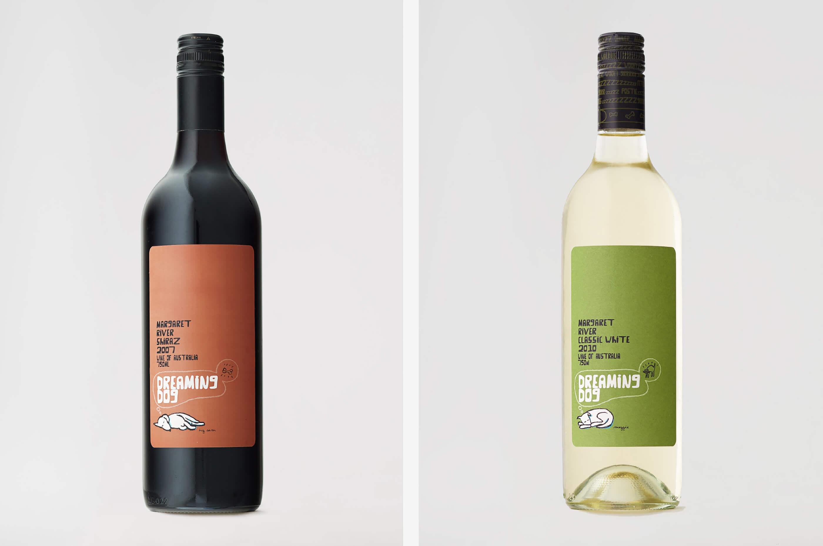 DreamingDog-WineBottle-Design-TwoBottles-1