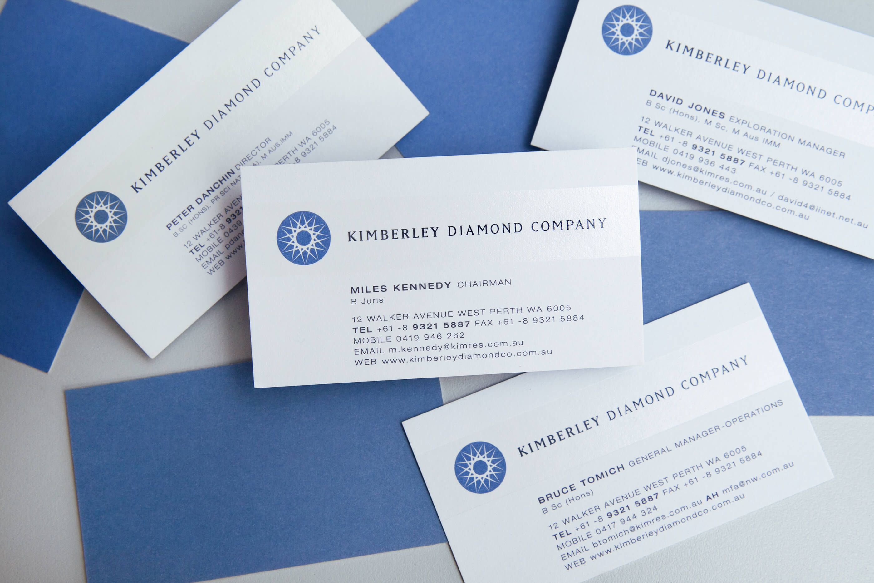Kimberley-Diamonds-Business-Card-Design