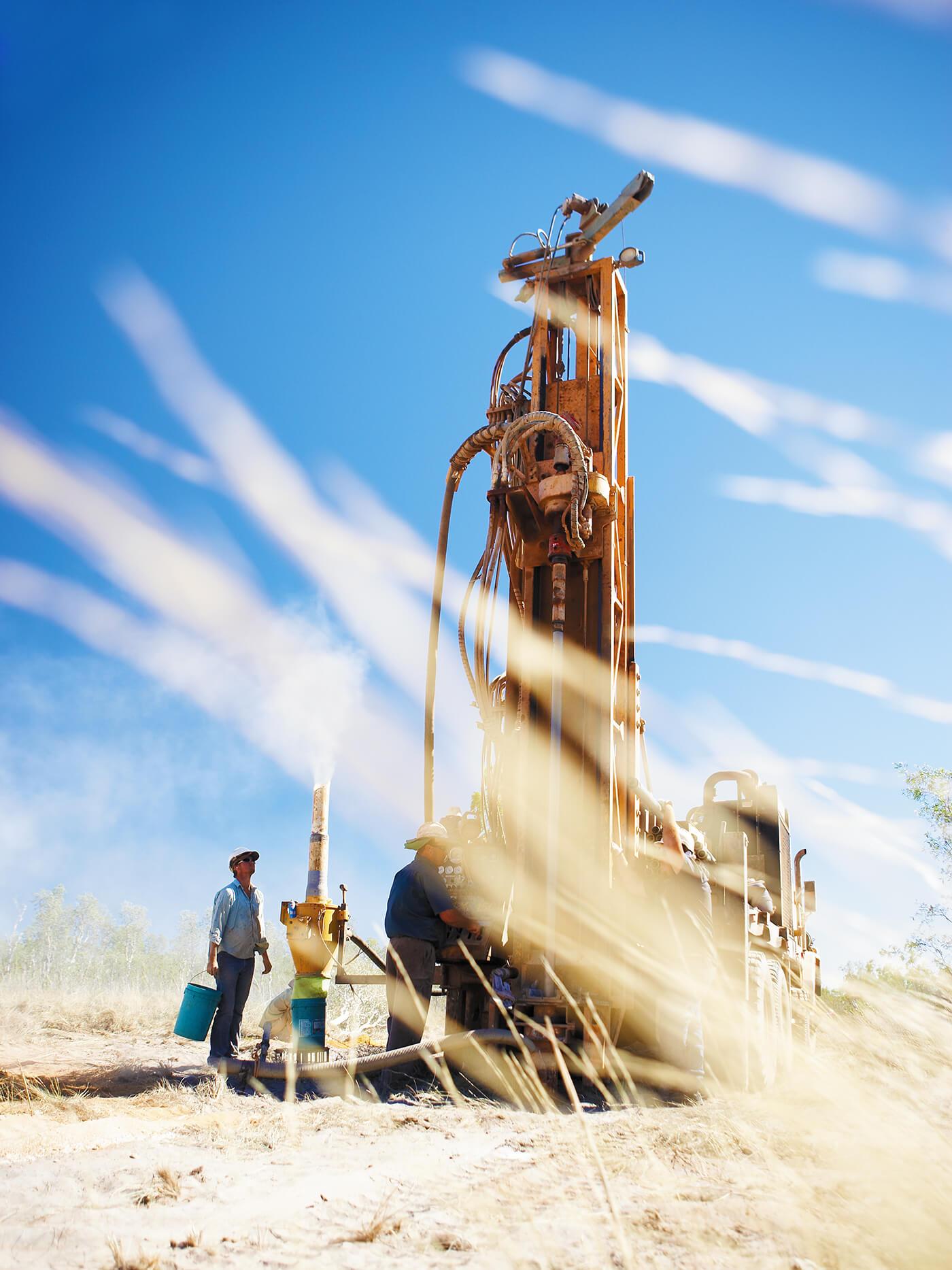 Kimberley-Diamonds-Drilling-Rig