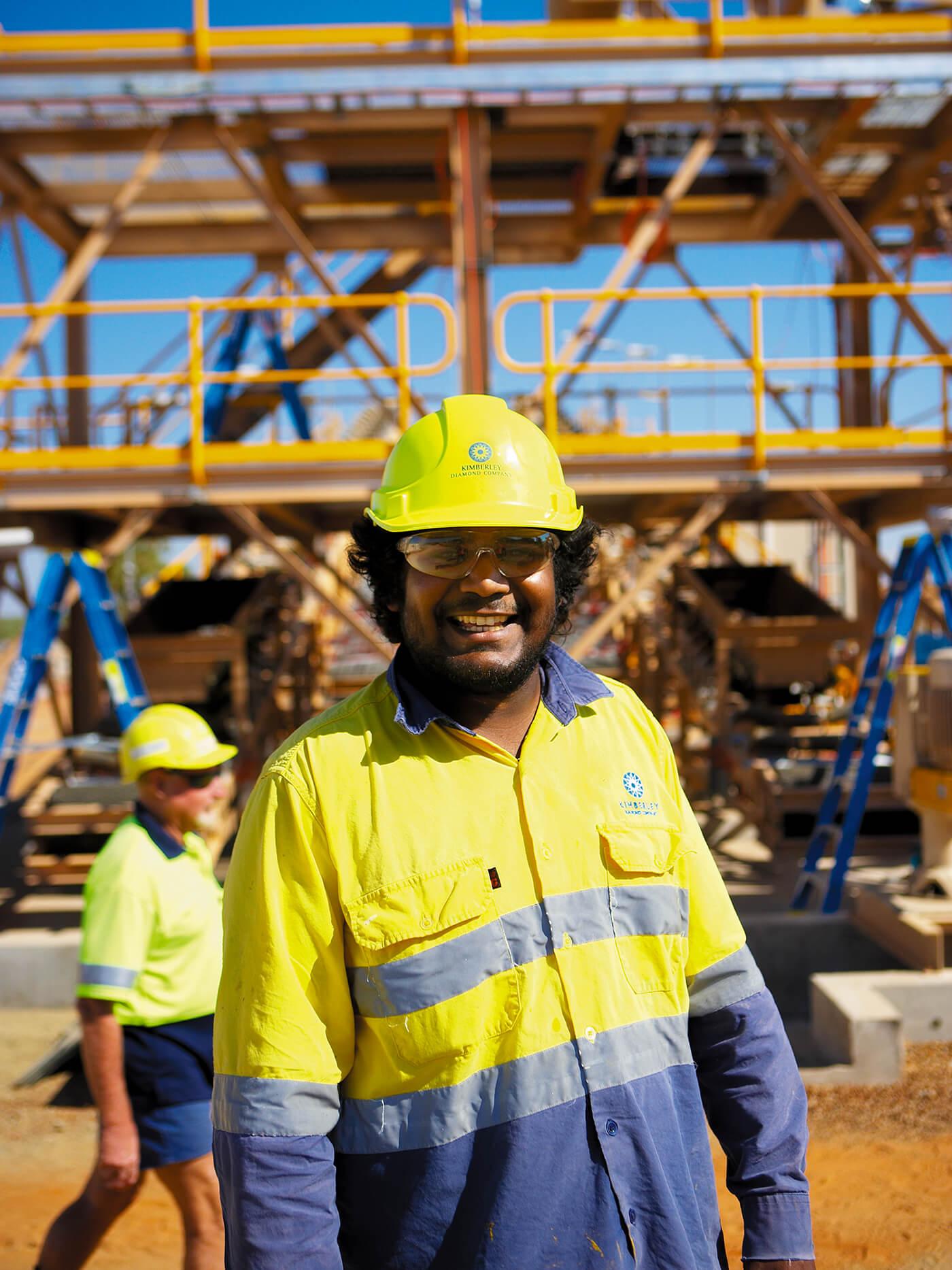Kimberley-Diamonds-Employee
