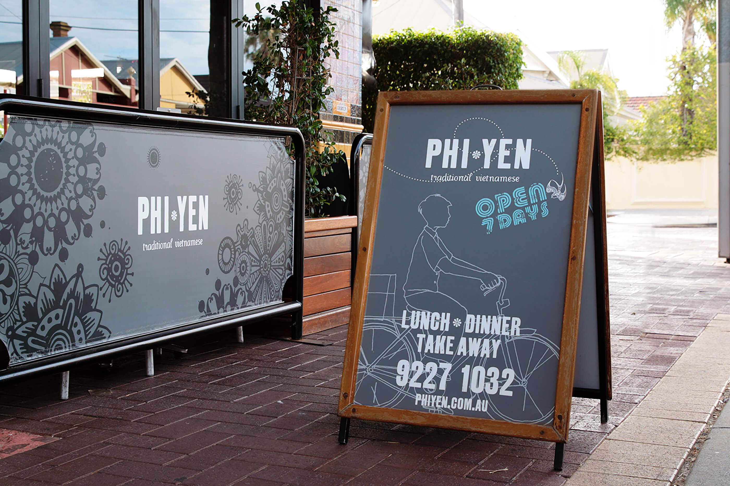 Phi Yen Signage