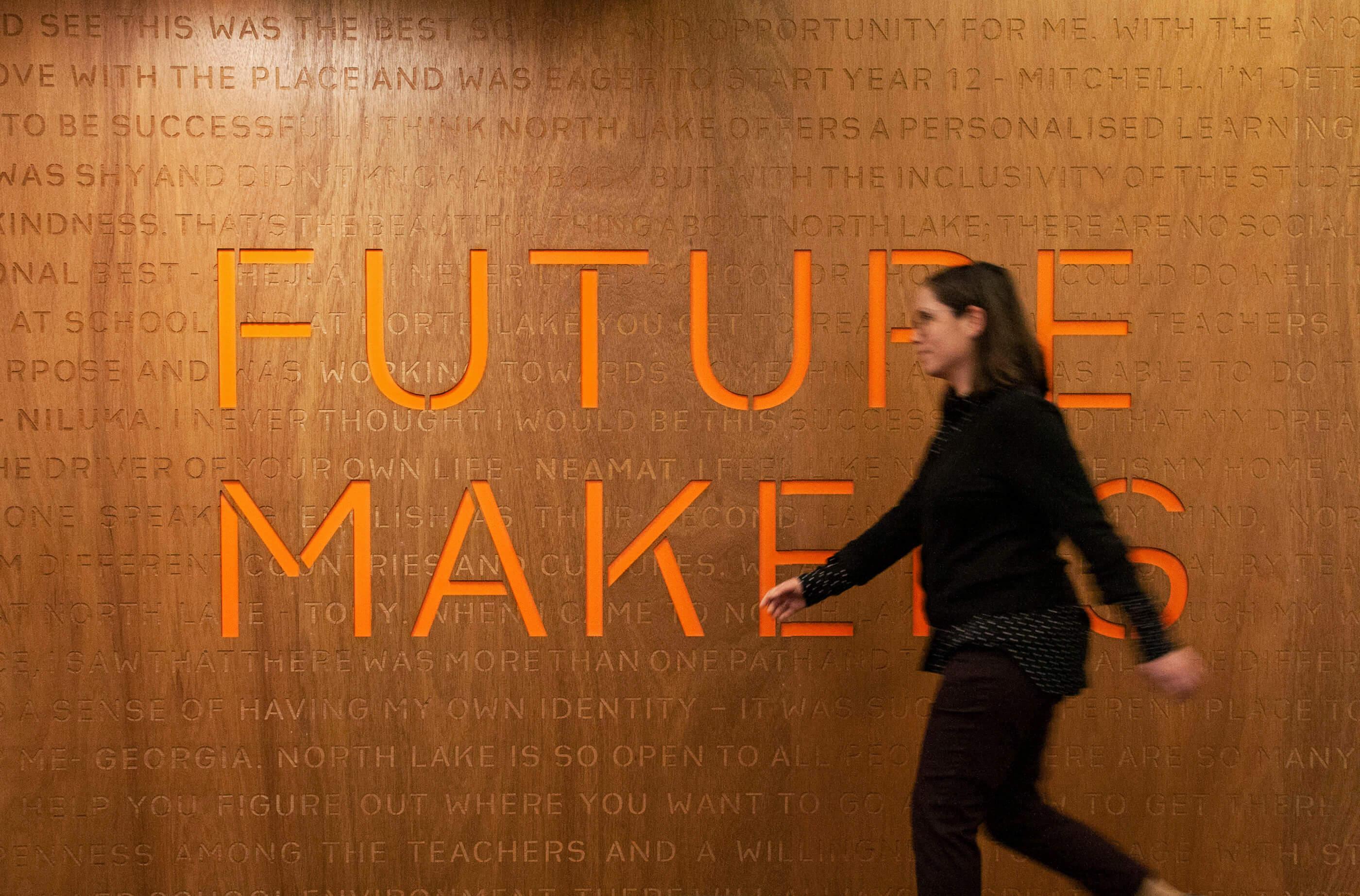 Future Maker Signage